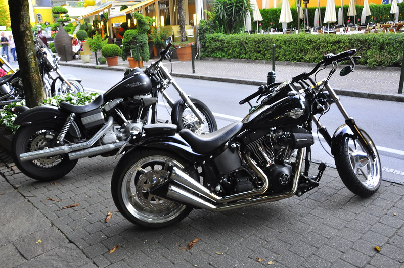 more Harley hogs in Velden