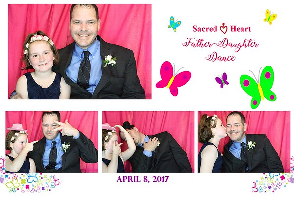 Sacred Heart Father Daughter 2017