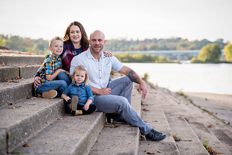 Williamsport Family Photographer : 10/22/17 Nick, Staci, Linkin, and Brynlee