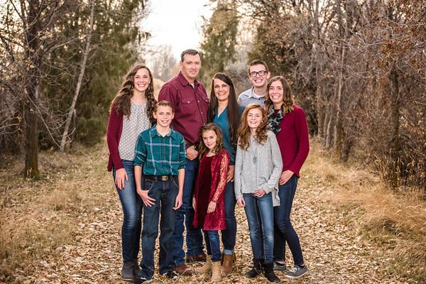 Janel Andersen Family 2019