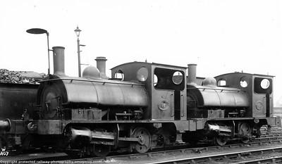Aspinall Lancashire & Yorkshire Railway Class 21 'Pugs' Tank Engine preserved