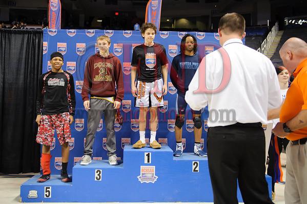 2016 Wrestling State Championship Podiums