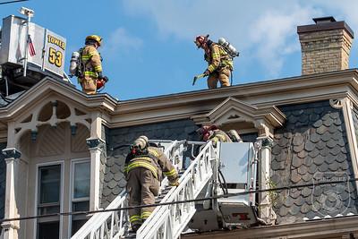 2 Alarm Dwelling Fire - Main St, Spencer, MA - 8/10/2020