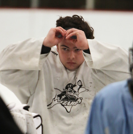 Billerica hockey goalie 012120