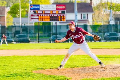 AAHS Baseball vs Central Mtn 04-18-17