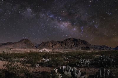 Night Photography - Milky Way - Star Trail