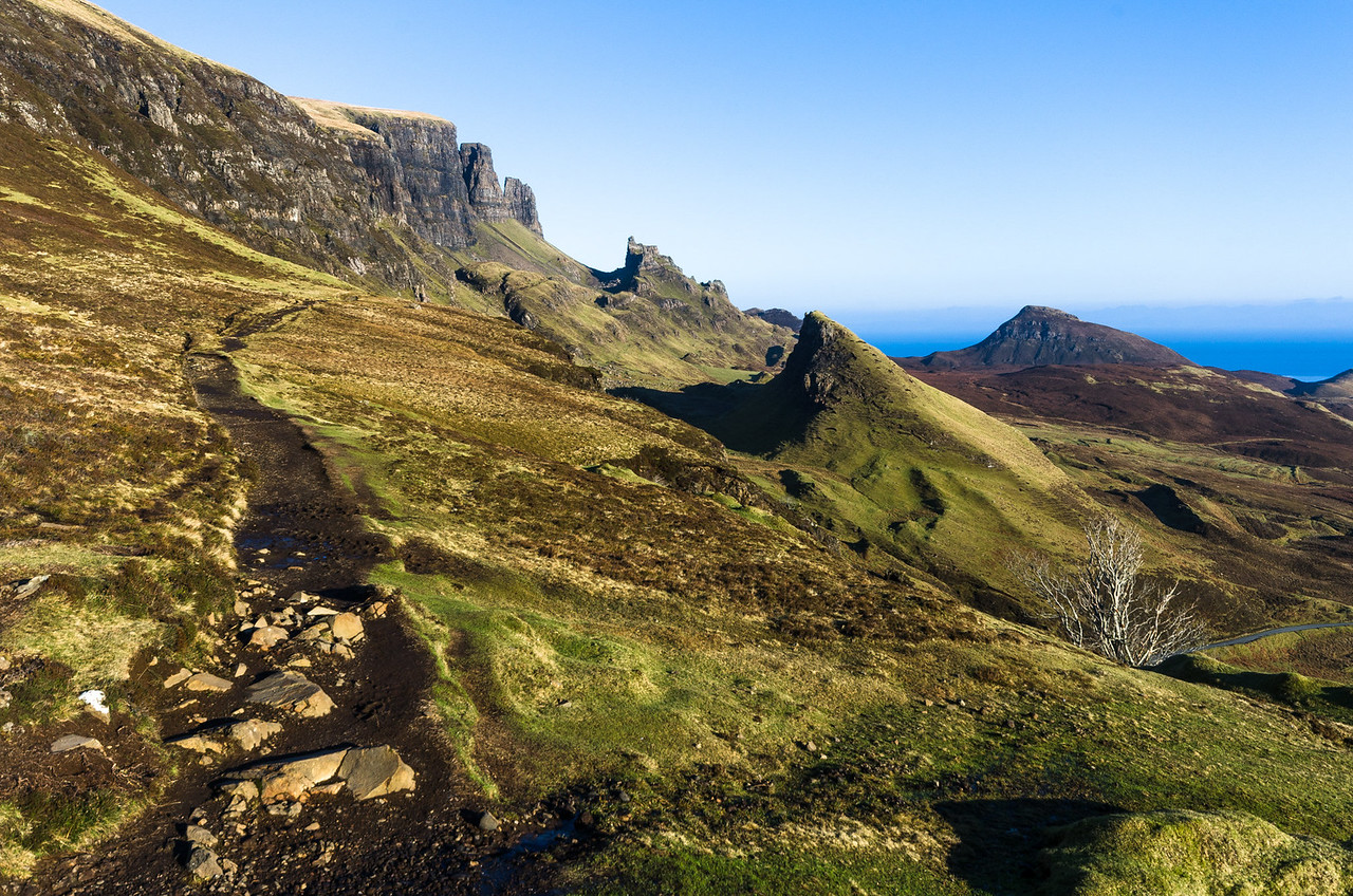 Take a left... | Hiking the Quiraing