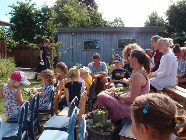 Sommerfest i børnehaven 2016