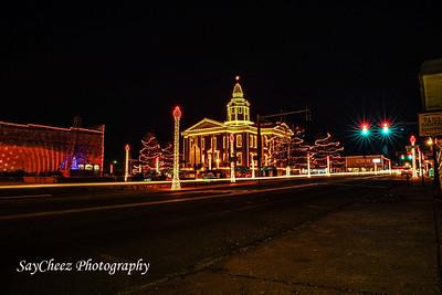 Paris, Ar. Christmas Lights