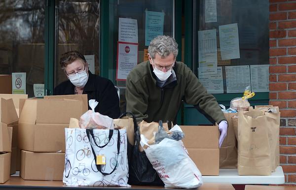 GBICS food distribution during Coronavirus - 032420