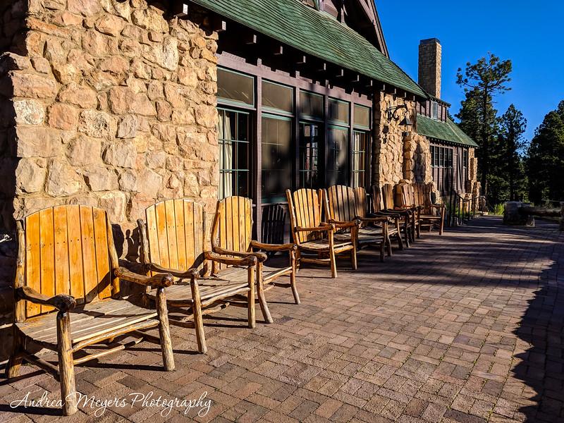 Patio, Bryce Canyon Lodge, Utah