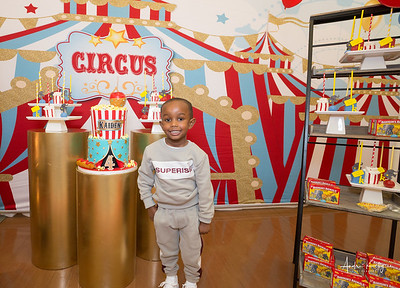 Kaiden's 4th Birthday Big Top Circus Party