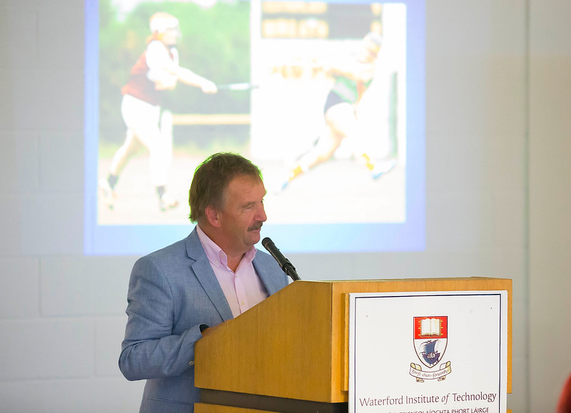 WIT holds event to honour 2016 All Ireland medal winning students. Pictured is MC Liam Stratt.. Picture: Patrick Browne  Waterford Institute of Technology's presence and influence across Gaelic Games at a national level in 2016 has been very noticeable. In total there are 32 past and present WIT students on the respective playing panels that won All Ireland medals in 2016 and a further 4 members on the backroom management teams.   To honour this huge achievement, WIT GAA Club is paying tribute to these 36 past members on securing these prestigious national titles on Monday 3 October, 6.30pm at the WIT Arena.   Along with the players, the prestigious cups, including the All Ireland Senior Hurling Cup- Liam McCarthy, the All Ireland Senior Camogie Cup- O'Duffy, The All Ireland Minor Cup and the All Ireland Under 21 Hurling Cup- James Nowlan, will be on show on the night.