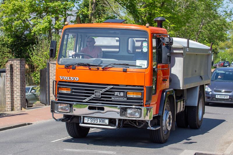 F999MWL 1989 Volvo FL6