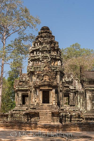 Thommanon Temple, Angkor Park, Siem Reap, Cambodia