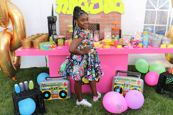 ANEYSE 10TH BDAY PARTY...
