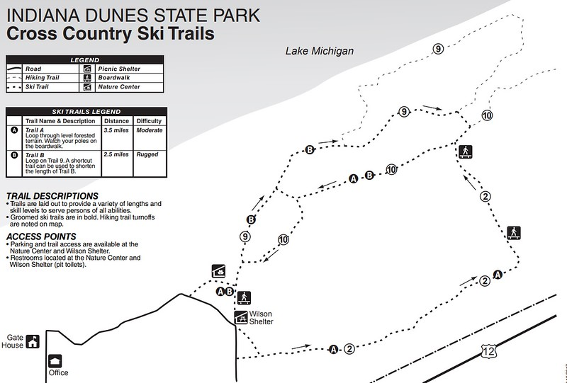 Indiana Dunes State Park (Cross Country Ski Trails)
