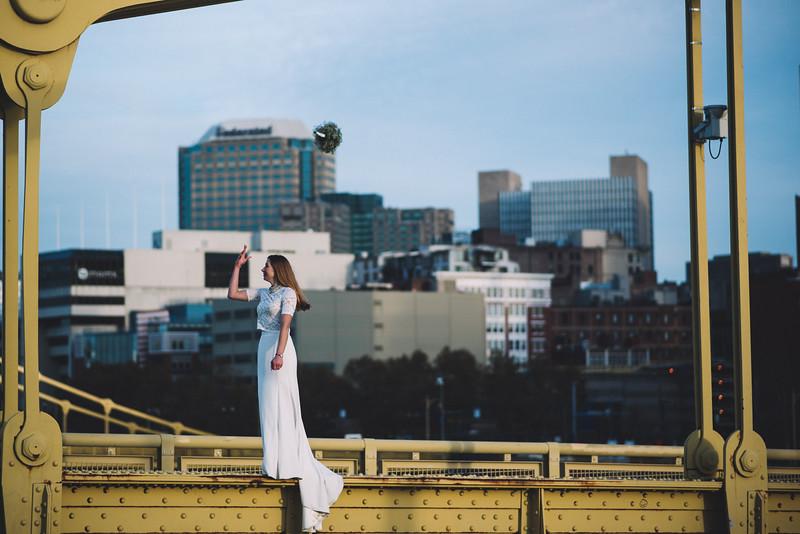 Pittsburgh Elopement Photographer - Monaco Bridge Downtown - Hadley-299.jpg