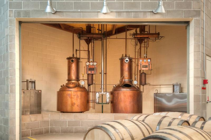 Stranahans Architecture Copper Stills
