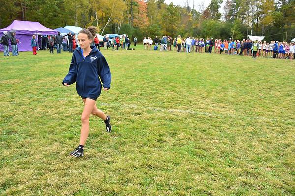 Girls Junior High Woods Trail Run 10/4/14