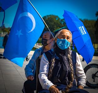 1 Oct 2021 Washington, DC:  Stop the Uyghur Genocide Rally