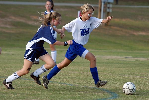 Beck V Mauldin Girl's Soccer 2008