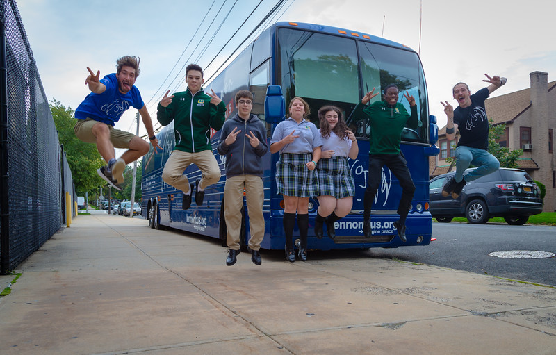 Bus, Flushing, Holy Cross, Jump Shot, New York, Ryan Hillsinger, Steven Meloney
