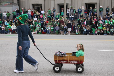 2011 St. Patrick's Day Parade in St. Louis