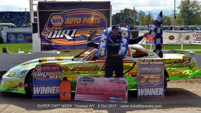 Oswego Speedway - SDW - Pro Stocks - 10/8/17 - Rick Young