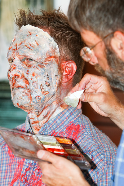 Tuesday - Big Night In - Zombie Makeover!