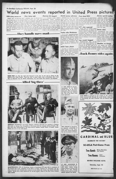 The Trojan, Vol. 35, No. 166, September 20, 1944