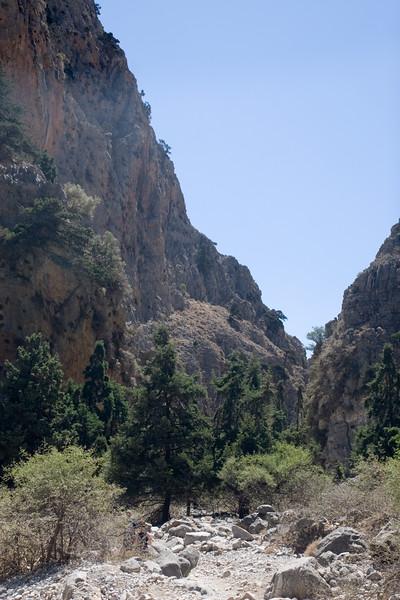 Vakantie Kreta. Imbros Gorge.