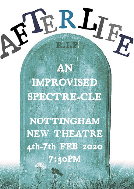 Afterlife: An Improvised Spectre-cle poster
