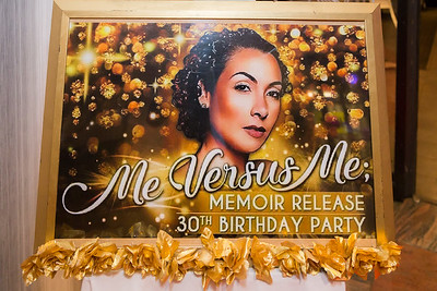 Me Versus Me - Memoir Release and 30th Birthday Party