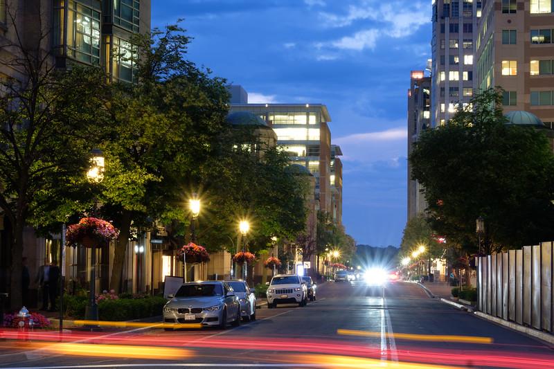 Summer evening on Market Street