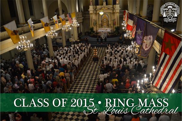 Class of 2015 Ring Mass