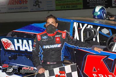 Albany-Saratoga Speedway - 9/18/20 - Mark Brown