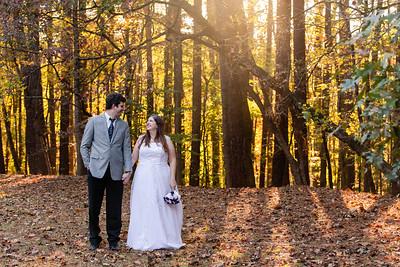 Jen & Jordan | Umstead State Park Couples Photography
