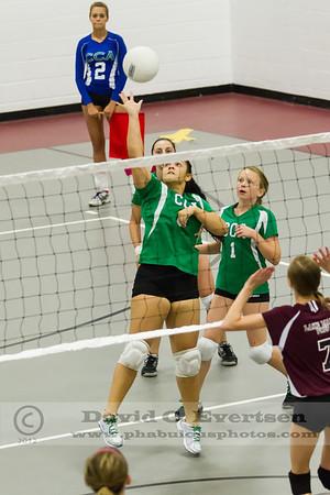 Girls JV Volleyball - 2012