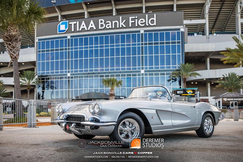 2019 Jax Cars and Coffee at TIAA Field 030 POSED - Deremer Studios LLC