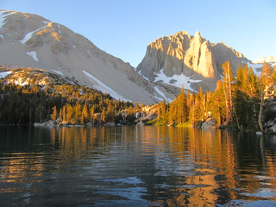 Sierra -- Big Pine Lakes   7-17