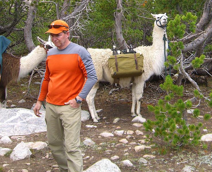 Monty with Llama.jpg