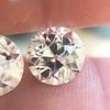 4.08ctw Old European Cut Diamond Pair, GIA I VS2, I SI1 16