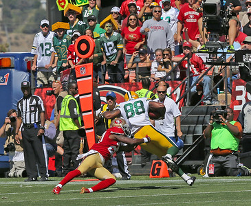 Packers vs 49ers Sept 8, 2013