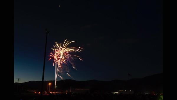 Tehachapi Fireworks July 4 2019