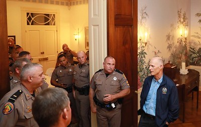 10-11 Florida Highway Patrol at the Florida Governor's Mansion