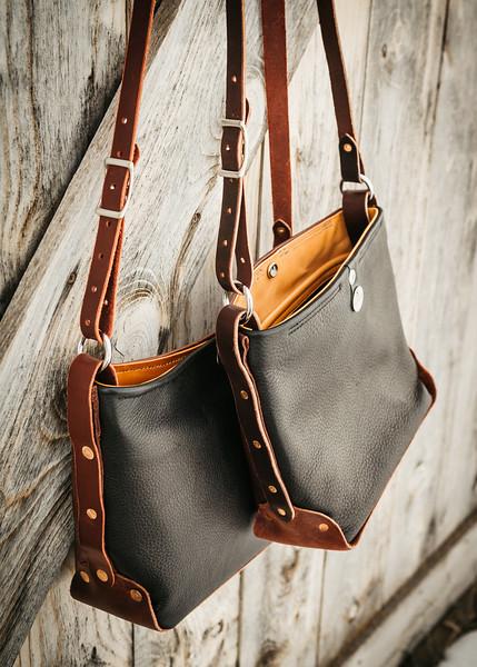 Two Palominos: Leatherworking