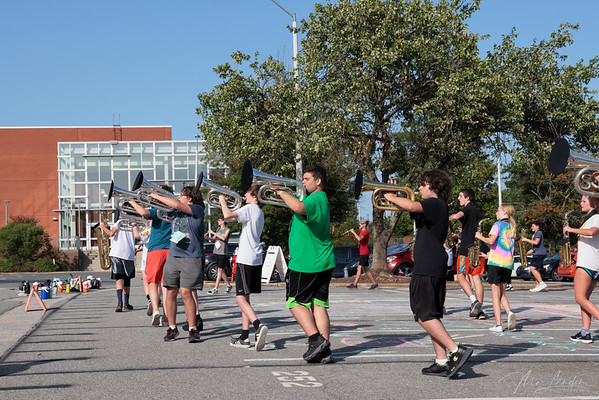 2021-08-30 Marching Band Practice