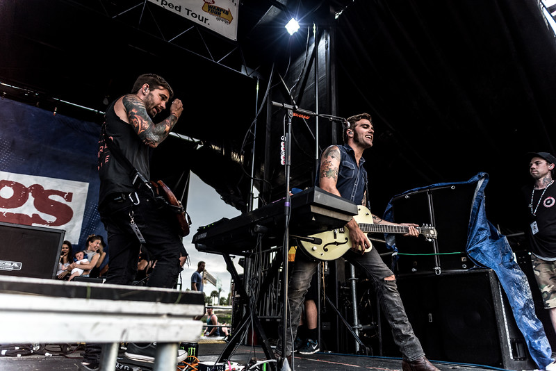 We The Kings - Warped Tour 7/2/16