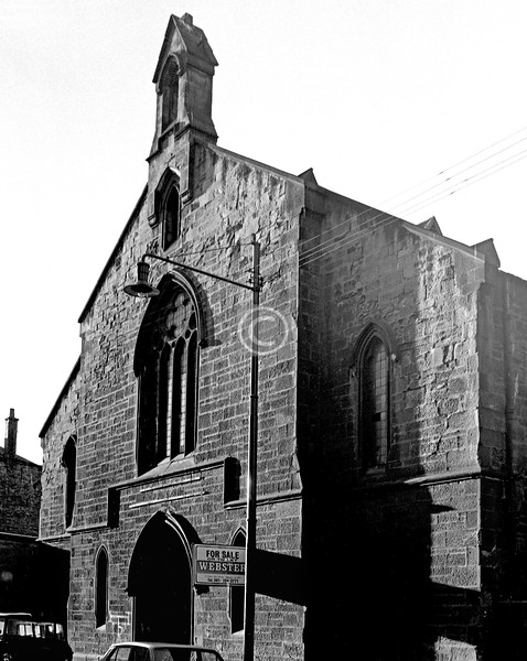 Landressy St.  Barrowfield U F Church (the Edgar Memorial).    January 1974